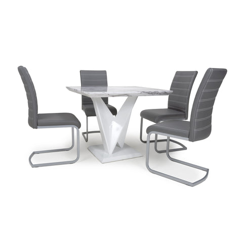 Image of SATURN SQUARE DINING SET - Corner Sofas and Sofa Sets - RJF Furnishings - Online Furniture Store - Finance Available