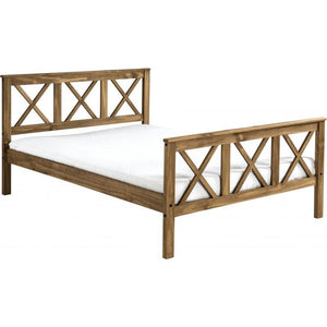 Salvador Bed  High Foot End - RJF Furnishings - Furniture Specialist