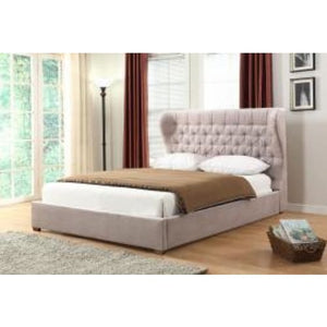 Willowbank Mink Fabric Bed - RJF Furnishings - Furniture Specialist