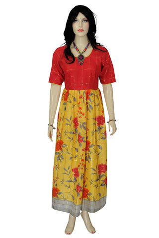 Ready to Wear Designer Party Floor Length Linen Top for Women