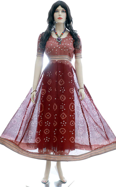 Ready to wear Indian Checks Salwar Kameez for Women in Maroon | Akalors