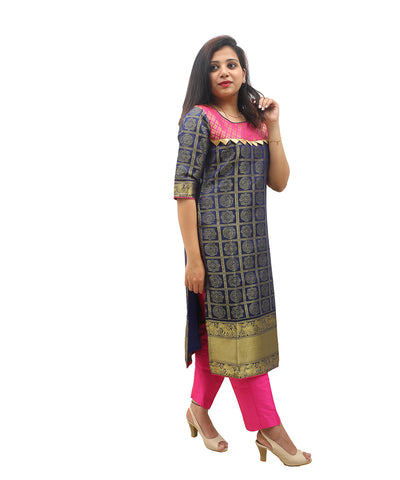 products/Banarasi_Silk_Zari_Border_Kurti_Blue_-_Akalors118_1.jpg