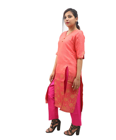 products/Banarasi_Silk_Zari_Border_Kurti_Pink_-_Akalors117_3.jpg