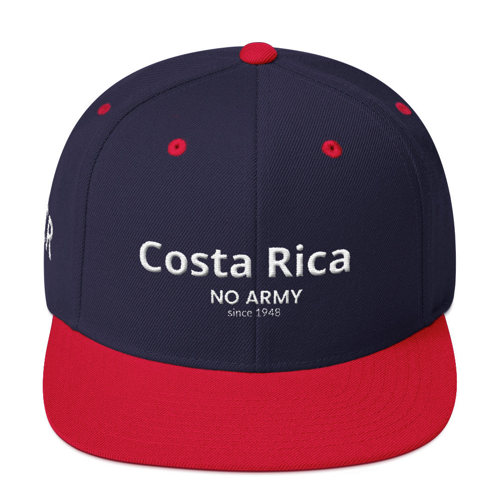Gorra bordada Costa Rica- No Army -Alta calidad Unisex - SuRegaloExpress