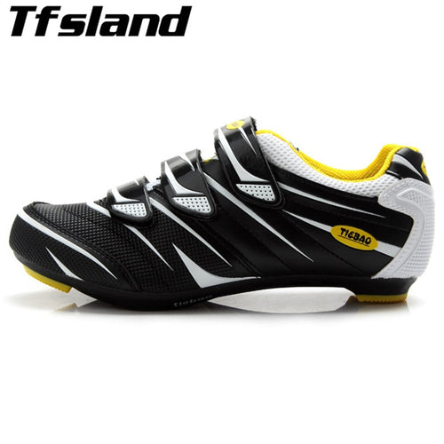 Professional Men Breathable Bicycle Cycling Shoes