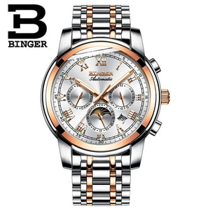 Switzerland Automatic Mechanical Watch Men