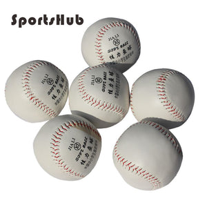 New White Softball Ball Practice Training PVC