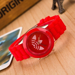 Sports Brand Quartz Watch Men ad Casual Silicone