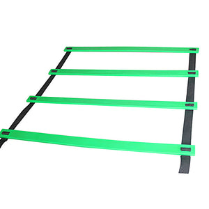 High Quality Outdoor Sports 5M  9 Rung Agility Ladder for Football Soccer Speed Carry Bag Training Equipment 4 colors - SuRegaloExpress