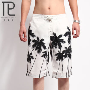 Men's Beach Shorts Mens Board Shorts Summer Clothing Coconut Trees Shorts Quick Dry sea Shorts masculina letter board bermuda - SuRegaloExpress