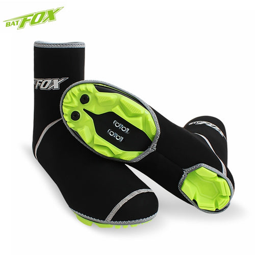 Road Bike Overshoes Winter Thermal Windproof Shoe