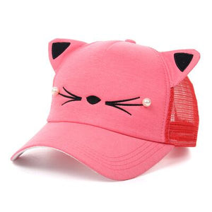 cat ears baseball cap Sanpback new Korean version - SuRegaloExpress