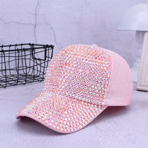 Baseball Cap Bling Diamond for women - SuRegaloExpress