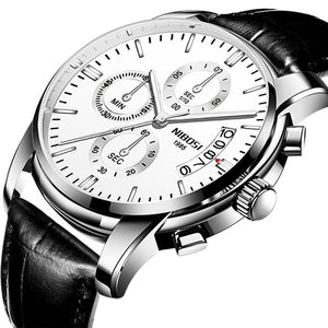 Quartz Mens Watches Top Brand Chronograph Sport Watch Men Military