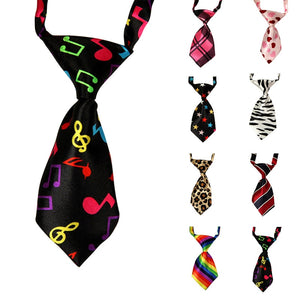 Cute Pet Teddy Adjustable Bow Tie Necktie Collar Lovely Dog Cat - SuRegaloExpress