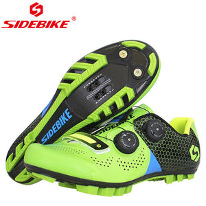 SIDEBIKE Ultralight Carbon Fiber Cycling Shoes Anti-skid