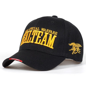 Team Tactical Cap Mens Army Baseball Cap Brand Adjustable