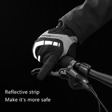 Cargar imagen en el visor de la galería, Touch Screen Cycling Gloves Autumn Winter Thermal Windproof Bicycle Gloves