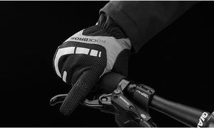 Touch Screen Cycling Gloves Autumn Winter Thermal Windproof Bicycle Gloves