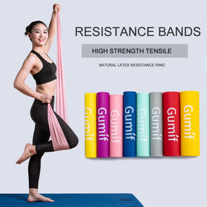 Resistance Bands Gym Fitness Equipment Strength Training Latex Elastic