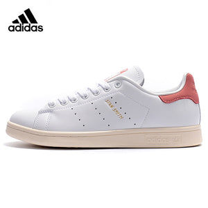 Original Authentic Adidas Clover STAN SMITH Men and Women Skateboarding Shoes Wear-resistant Lightweight Breathable Flat S80024