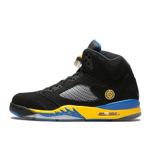 Original Authentic Nike Air Jordan 5 Retro Laney Men's Breathable Basketball