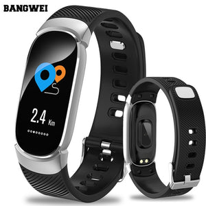 Women Sport Smart Watch LED Waterproof- For Android