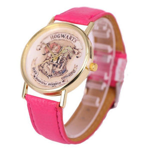 Harry Potter Magic School Watches For Women Men 2019 Fashion Casual Leather Quartz Watch Students Wristwatch Relogio Feminino - SuRegaloExpress