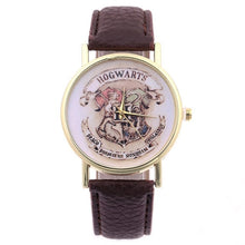 Cargar imagen en el visor de la galería, Harry Potter Magic School Watches For Women Men 2019 Fashion Casual Leather Quartz Watch Students Wristwatch Relogio Feminino - SuRegaloExpress