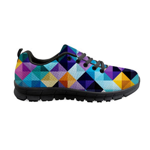 HYCOOL Bright Color Graffiti Printed Lightweight Shoes For Fitness Women Sneakers Breathable Jogging Runner Shoes Teens Girls - SuRegaloExpress