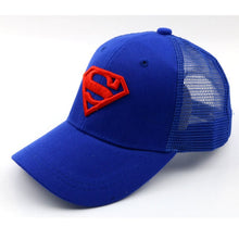 Cargar imagen en el visor de la galería, Children Baseball Caps Cartoon Embroidery Superman Boys Girls Age 2-8 Years - SuRegaloExpress