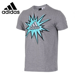 Original New Arrival 2018 Adidas ISC SS BOS ILLU Men's T-shirts short sleeve Sportswear