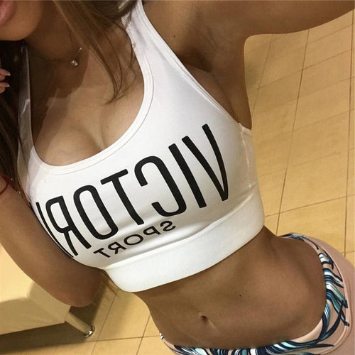 Women Sports Bras Breathable Top Running Gym Yoga Fitness Tank Top Ladies Padded Seamless Crop Bra Workout Bras