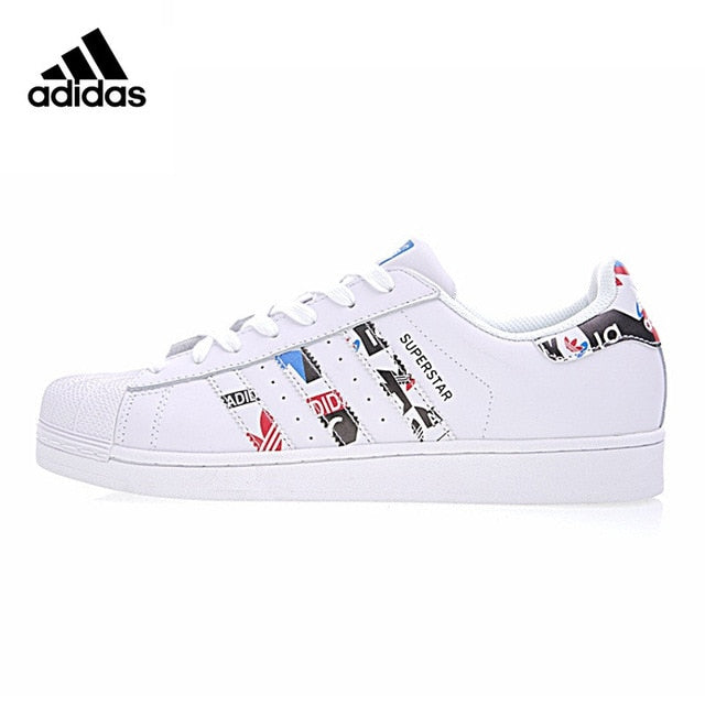 Original Official Adidas Clover SUPERSTAR Men and Women Skateboard Shoes Classic Breathable Shoes Outdoor Anti-slip Flat CP9760