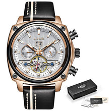Cargar imagen en el visor de la galería, Men Watches Original Automatic Mechanical Watch Male - SuRegaloExpress