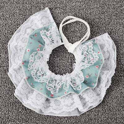 Cute Puppy Dog Lace Scarf Fashion Pet Accessories Flower Design Girl Dog - SuRegaloExpress