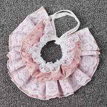 Cargar imagen en el visor de la galería, Cute Puppy Dog Lace Scarf Fashion Pet Accessories Flower Design Girl Dog - SuRegaloExpress