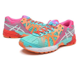 New Arrival Official Asics Gel-Noosa TRI9 Woman's Shoes Breathable Stable Running Shoes Outdoor Tennis Shoes Hongniu