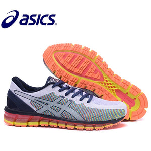 2018 Original New Arrival  Asics Gel-Quantum 360 Man's Shoes Breathable Stable Running Shoes Outdoor Tennis Shoes Hongniu - SuRegaloExpress