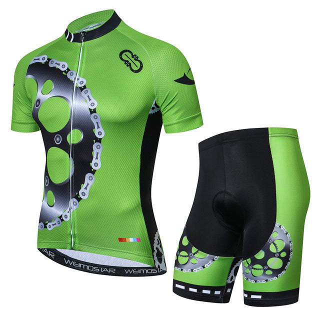 Weimostar 2019 Summer Short Sleeve Cycling Jersey Set Breathable mtb Bicycle Clothing Pro Team Bike Jersey Maillot Ropa Ciclismo