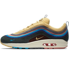 Cargar imagen en el visor de la galería, Nike Air Max 1/97 SW Sean Wotherspoon Summer Man Outdoor Running Shoes Comfortable non-slip Sneakers# AJ4219-400