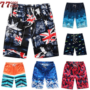 New 2018 Brand Men's Board Shorts Men Beach Shorts Quick Drying Pants Casual Shorts Homme Outwear Shorts Men Plus Size 4XL - SuRegaloExpress