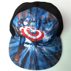 Children Baseball Cartoon Anime Super Hero Superman Batman Caps Boy -  Girls Adjustable - SuRegaloExpress