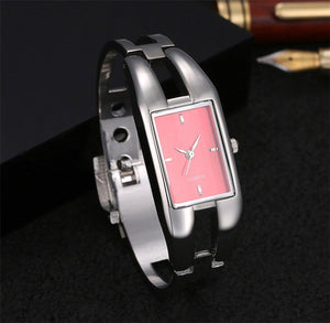 Luxury Women Watch Bracelet Quartz Watches Hollow Slim Band - SuRegaloExpress
