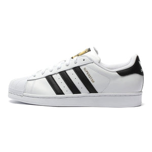 Original Authentic Adidas Originals Superstar Classics Unisex Skateboarding Shoes Women and Men Sneakers Classics Anti-Slippery