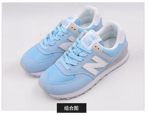 NEW BALANCE NB574 Menthol Green Women's Sports Shoes Badminton Shoes