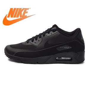 Original Authentic NIKE AIR MAX 90 Men's Running Shoes Sneakers Rubber Breathable Lace-Up Nike Shoes Men Comfortable 875695