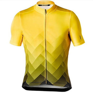 Cycling Jersey 2019 New Mavic Men Short Sleeve Breathable Maillot Ropa Ciclismo MTB Sportwear Bike Clothing bib shorts gelpad #8 - SuRegaloExpress