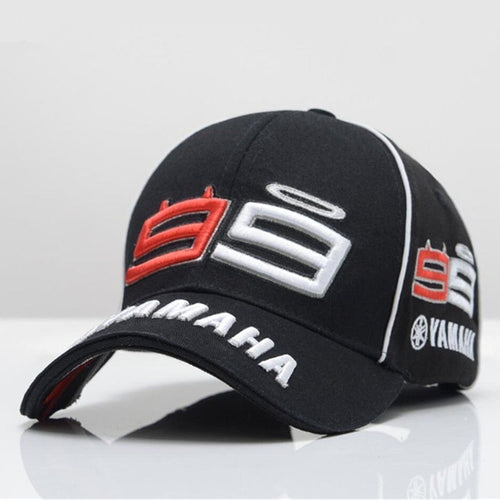 Yamaha Motorcycle Racing Sport Men's Baseball Cap