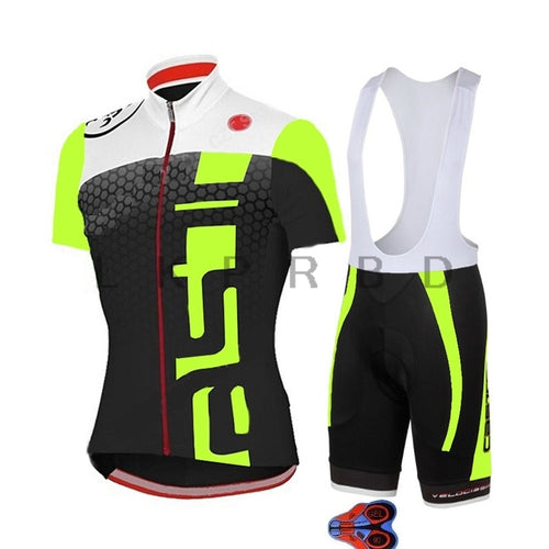 Men's Cycling Jersey set 2019 Pro Team  MTB Bike Clothes Sport Jerseys Summer Bicycle Clothing Maillot Ropa Ciclismo Suit 9D - SuRegaloExpress
